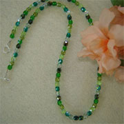 Mixture of Colors For Glass Beaded Necklace