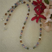 Multiple Colors For Glass Beaded Necklace